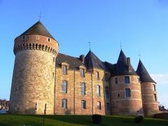 Château - English: Medieval Castle of Gacé, Normandy