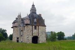 Manoir de la Sausserie - English: La Haute-Chapelle, Orne, France. Manoir de la Saucerie.