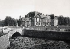 Château - Deutsch: Schloss Médavy, Département Orne, Frankreich