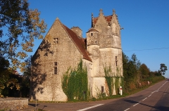 Manoir de Pommereux - Français:   Montgaroult (Normandie, France). Le manoir de Pommereux.