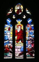 Eglise Notre-Dame - Français:   Vitrail dans l\'église Notre-Dame de Mortagne-au-Perche