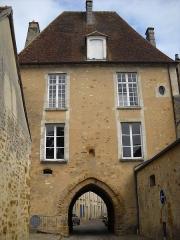 Porte Saint-Denis - English: Saint-Denis Gate (12-16th c.), in Mortagne-au-Perche, Orne, France.
