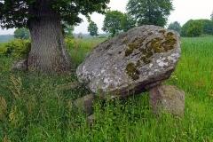 Ensemble mégalithique - English: Saint-Bômer-les-Forges, Orne, France. Dolmen du Creux.