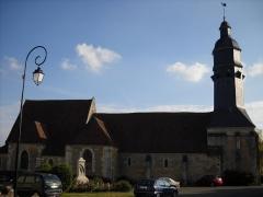 Eglise Saint-Cyr et Sainte-Julitte - English: St.Cyr and St.Juliet's church, in Saint-Cyr-la-Rosière, Orne, France.