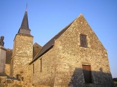 Eglise des Montiers -  Tinchebray (Normandie, France). L'église Notre-Dame des Montiers.