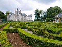 Château de Balleroy -  Château de Balleroy vu des jardins