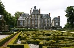 Château de Balleroy - Deutsch: Schloss Balleroy in der Basse-Normandie