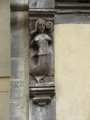 Maison dite d'Adam et Eve - This image was uploaded as part of Wiki Loves Monuments 2012.