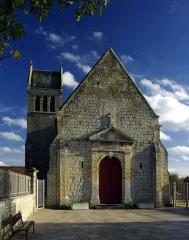 Eglise - Français:   L\'église Notre-Dame du port à Bénouville, Calvados.