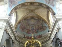 Eglise Notre-Dame ou de la Gloriette -  abside de l'église Notre-Dame-de-la-Gloriette à Caen.