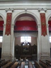 Eglise Notre-Dame ou de la Gloriette -  nef de l'église Notre-Dame-de-la-Gloriette à Caen.