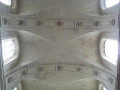 Eglise Notre-Dame ou de la Gloriette -  voûtes de la nef de l'église Notre-Dame-de-la-Gloriette à Caen.