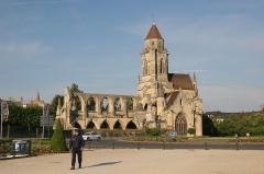 Ancienne église de Saint-Etienne-le-Vieux, actuellement magasin communal -  IMG_7359