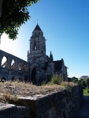 Ancienne église de Saint-Etienne-le-Vieux, actuellement magasin communal -  Caen