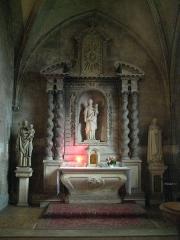 Eglise Saint-Ouen - Français:   église Saint-Ouen de Caen, autel du transept sud