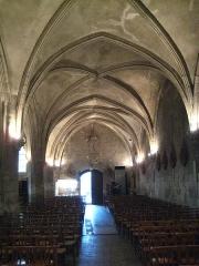 Eglise Saint-Ouen - Français:   église Saint-Ouen de Caen, nef