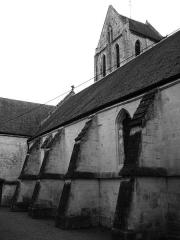Eglise Saint-Ouen - Français:   église Saint-Ouen de Caen, façade nord