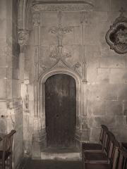 Eglise Saint-Ouen - Français:   église Saint-Ouen de Caen, porte gothique