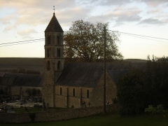 Eglise Notre-Dame - Français:   église de Commes vue du sud-ouest