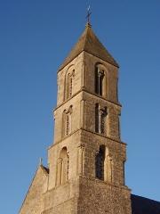 Eglise Notre-Dame - Français:   Commes (Normandie, France). Le clocher de l\'église Notre-Dame.