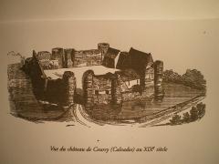 Ancien château fort - Français:   ruines du château de Courcy (Calvados)