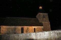 Eglise Saint-Gervais-Saint-Protais - Français:   L\'Eglise de COURCY (Pierres en Lumières 2016)