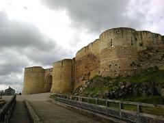 Château fort, actuellement collège -  Calvados Falaise Chateau Guillaume Le Conquerant Entree 23042016