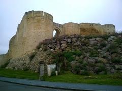 Château fort, actuellement collège -  Calvados Falaise Le Chateau De Guillaume Entree 06062016