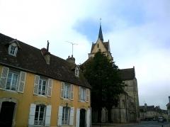 Eglise Notre-Dame de Guibray -  Calvados Falaise Eglise Notre Dame De Guibray Chevet 06062016