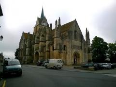 Eglise Notre-Dame de Guibray -  Calvados Falaise Eglise Notre Dame De Guibray Entree 06062016