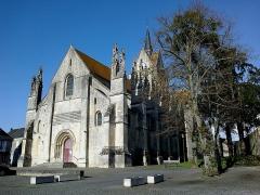 Eglise Notre-Dame de Guibray -  Calvados Falaise Eglise Notre Dame De Guibray Porche Ouest 23042016