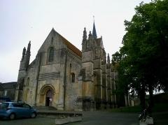 Eglise Notre-Dame de Guibray -  Calvados Falaise Eglise Notre-Dame De Guibray Entree 06062016