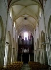 Eglise Notre-Dame de Guibray -  Calvados Falaise Eglise Notre-Dame De Guibray Nef Orgues 06062016