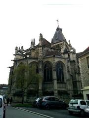 Eglise Saint-Gervais-Saint-Protais -  Calvados Falaise Eglise Saint-Gervais Abside Arc-Boutants 23042016