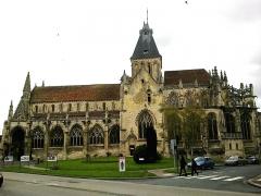 Eglise Saint-Gervais-Saint-Protais -  Calvados Falaise Eglise Saint-Gervais Cote Sud 23042016
