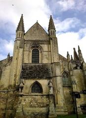 Eglise Saint-Gervais-Saint-Protais -  Calvados Falaise Eglise Saint-Gervais Porche Ouest 23042016