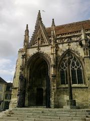Eglise Saint-Gervais-Saint-Protais -  Calvados Falaise Eglise Saint-Gervais Porche Sud 23042016