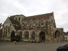 Eglise de la Trinité -  Calvados Falaise Eglise Trinite 25012015
