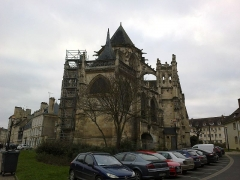 Eglise de la Trinité -  Calvados Falaise Eglise Trinite Chevet Poupe 25012015