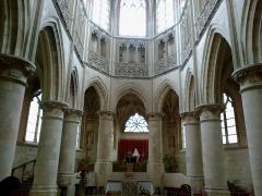 Eglise de la Trinité -  Calvados Falaise Eglise Trinite Choeur 25012015