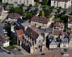 Eglise de la Trinité - église de la Trinité à Falaise (Calvados, Basse-Normandie).