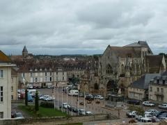 Eglise de la Trinité - Deutsch: Falaise, Place Guillaume le Conquérant, Kirche Sainte-Trinite, Calvados