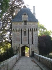 Domaine de Fervaques (également sur commune de Cheffreville-Tonnencourt) - English: Entrance of the castle of Fervaques, Calvados, France