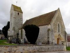Eglise de Bray-en-Cinglay - Français:   L\'église Saint-Aubin à Bray-en-Cinglais, commune de Fontaine-le-Pin, Calvados.