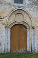 Eglise de Bray-en-Cinglay - Français:   Portail église de Bray en Cinglay (#100WikiCommonsDays day 23)