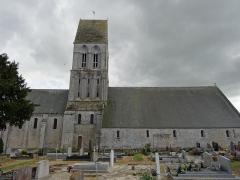 Eglise - Français:   façade nord de l\'église St Martin