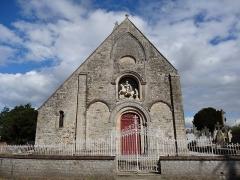 Eglise - Français:   façade occidentale de l\'église St Martin