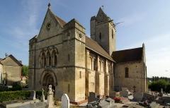Eglise Saint-Clair - Français:   L\'église Saint Clair dans l\'ancien bourg d\' Hérouville St Clair 14200.