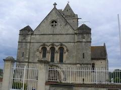 Eglise Saint-Clair - Français:   Façade de l\'église saint Clair d\'Hérouville-Saint-Clair (Calvados, France)