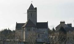 Eglise Saint-Clair -  Chevet de l\'église Saint-Clair d\'Hérouville-Saint-Clair (14).